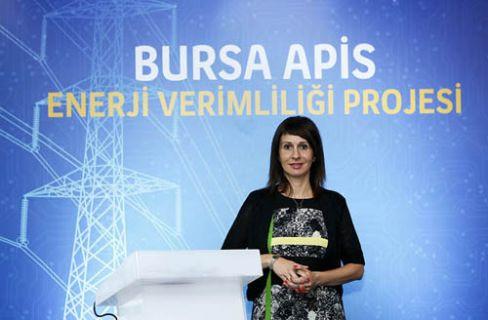 Kamudaki enerji tasarrufu Bursa Okullarından başladı