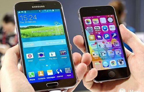 Rapor: iPhone 6 şimdiden Galaxy S5 satışlarını düşürdü