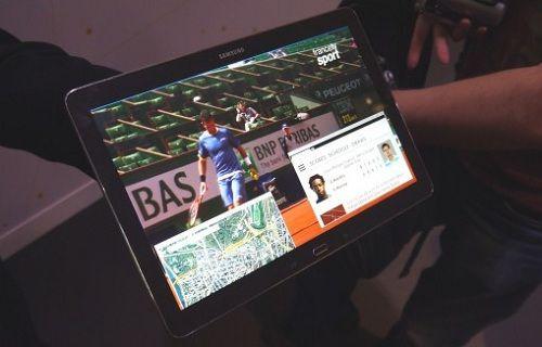 Samsung'un 4K çözünürlüklü tableti ortaya çıktı