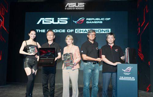 ASUS Republic of Gamers serisinin yeni üyeleri Computex 2014'te tanıtıldı