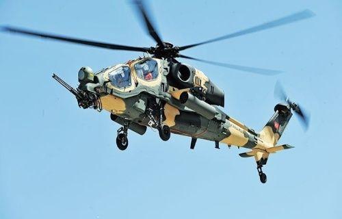 ATAK helikopteri TSK'ya teslim edildi