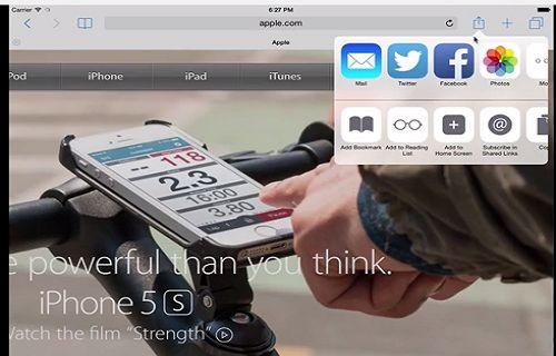 iOS 8'in Çoklu Ekran Desteği Görüntülendi [Video]