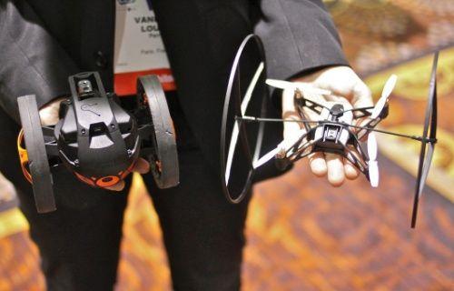 Parrot'un yeni eğlencesi Minidrone'lar Ağustos'ta satışa sunulacak [Video]