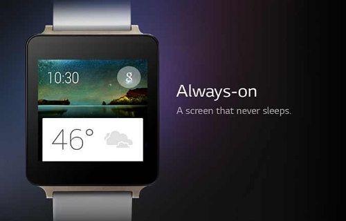 LG G Watch, Google Play'de göründü