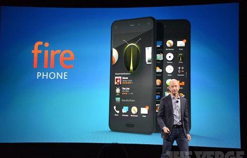 Amazon göz takip teknolojisine sahip Fire telefonu duyurdu