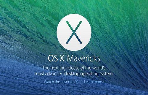 Apple Mevericks için ardı ardına güncelleme yayımlıyor