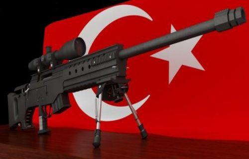 Türk yapımı keskin nişancı tüfeği Paris'te çalındı!