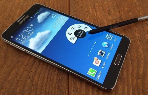 Galaxy Note 4'te Ultraviyole sensör yer alabilir