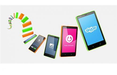 Nokia Android telefonu X2'yi resmi olarak duyurdu