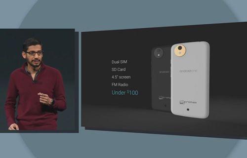 Google IO: Google gelişmekte olan ülkeler için Android One telefonu duyurdu