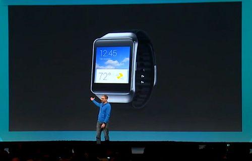 Google IO: Samsung Gear Live akıllı saat tanıtıldı