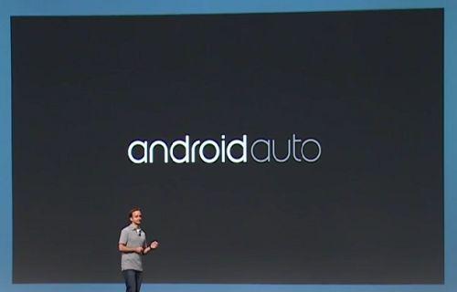 Google IO: Android Auto tanıtıldı