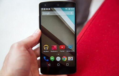 Android L yüklü Nexus 5'in görüntüleri yayınlandı