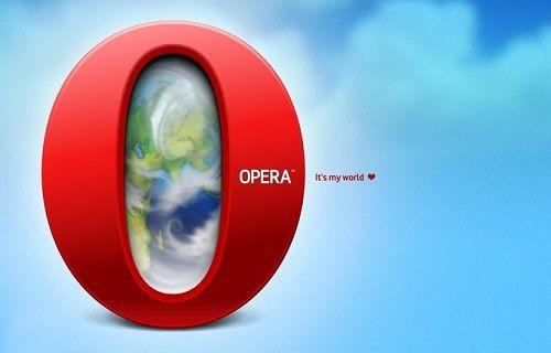 Opera web browser iOS 8 için yenileniyor!