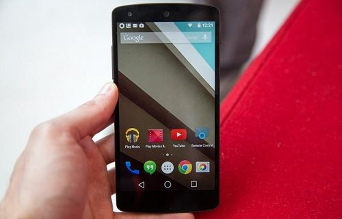 Fotoğraflarla Android L- Android KitKat karşılaştırması