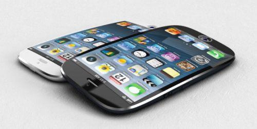 iPhone 6 kavisli ekran ve parlak Apple logosu ile gelebilir