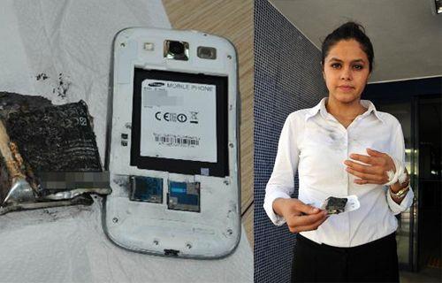 Samsung bu sefer de Alanya'da patladı