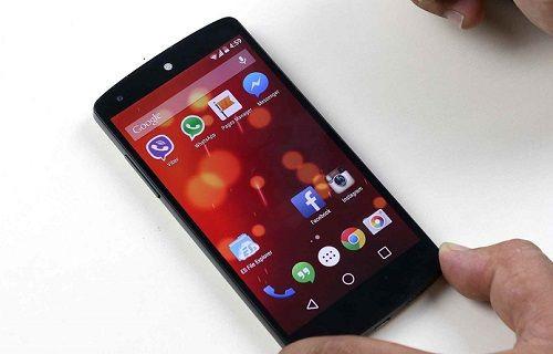 Android L'deki sanal butonlar değişebilir