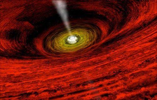 Merkezinde 3 dev karadelik olan gök ada keşfedildi!
