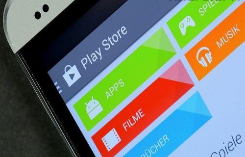 Google Play Store'a giyilebilir cihazlar için Android Wear bölümü eklendi!