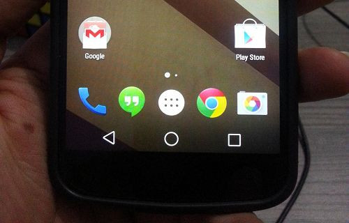 Nexus 4'e Android L yüklendi