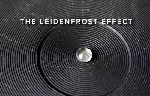 Leindenfrost etkisi nedir?
