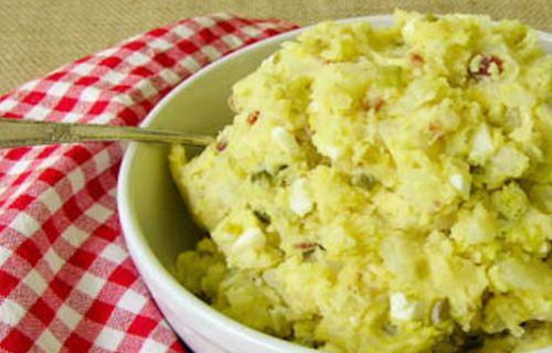 Yok böyle Patates Salatası!