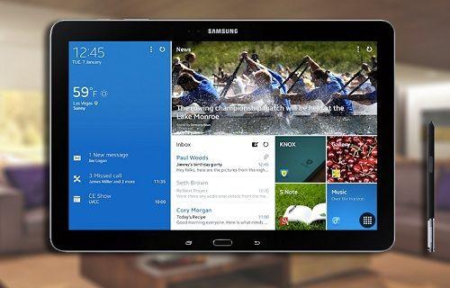Galaxy Note Pro 12.2 için mini bir güncelleme yayınlandı