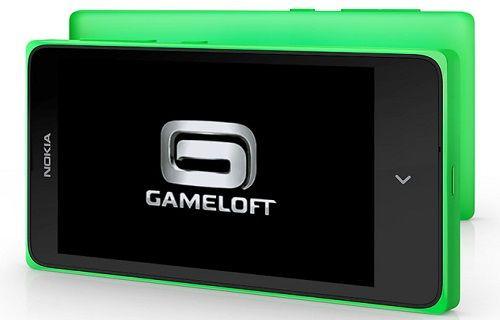 Microsoft ve Gameloft, Nokia X cihazlar için işbirliğine gidiyor
