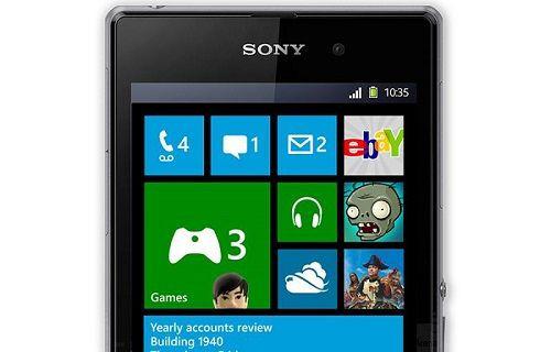 Sony'nin Windows Phone'lu telefonu sahte çıktı