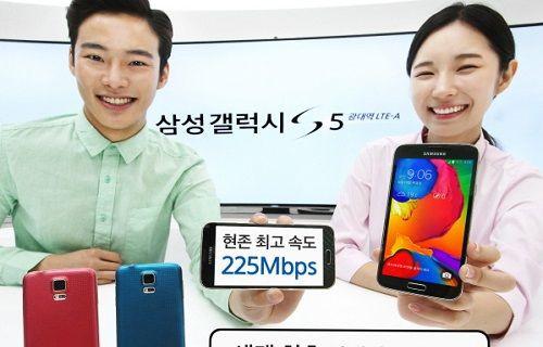 Galaxy S5 LTE-A, Avrupa pazarına geliyor