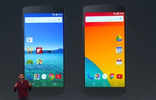 Android L teması Google Play'de yayınlandı