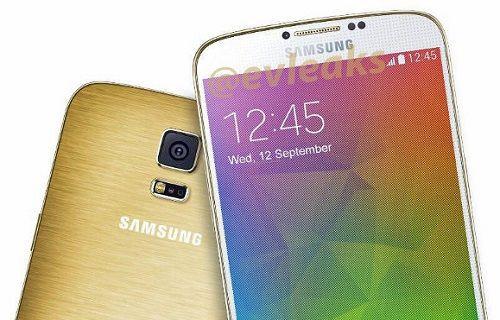 Metal kasalı Galaxy F'in asıl hedefi iPhone 6 olacak