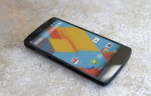 Google, Nexus 5 için yeni bir güncelleme başlattı
