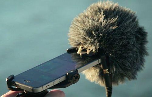 iPhone'nun Lightning bağlantı noktasında çalışan mikrofon yapıldı!