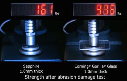 iPhone 6'nın Safir Camı mı daha dayanıklı yoksa Gorilla Glass 3 mü daha dayanıklı? [Video]