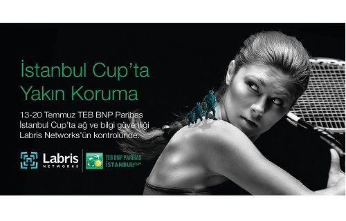 TEB BNP Paribas İstanbul Cup, Labris Networks'ün Yakın Korumasında