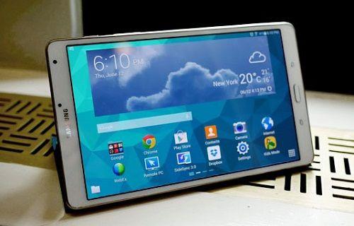 Samsung'un Super AMOLED ekranlı tabletinde hasar oluştu