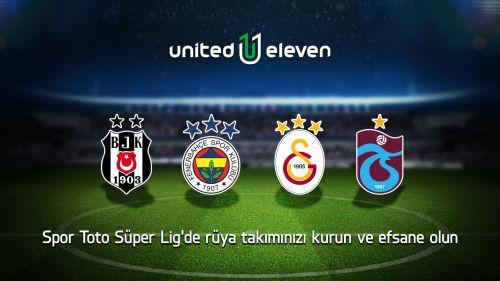 United Eleven ile artık Spor Toto Süper Lig de futbol heyecanına katılıyor!