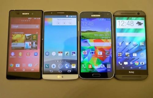 LG G3, Galaxy S5, Xperia Z2, HTC One M8, Sizce hangisi? Anket