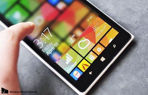 Windows Phone 8.1 dinamik kilit ekranlar için geri sayıma geçildi