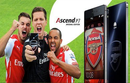 Huawei'den Arsenal taraftarlarına özel telefon