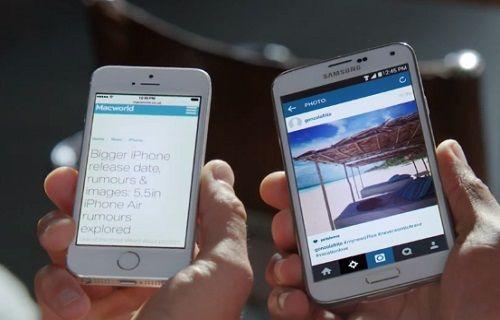 Samsung'dan Apple'a ekran göndermesi
