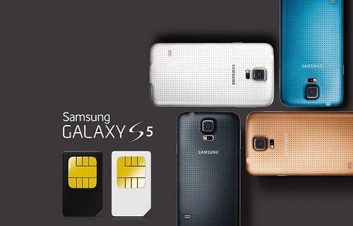 Çift SIM kartlı Galaxy S5 geliyor
