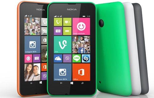 Lumia 530 resmiyet kazandı