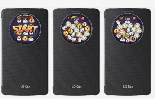 LG, çember kılıf ile uyumlu ilk oyunu duyurdu