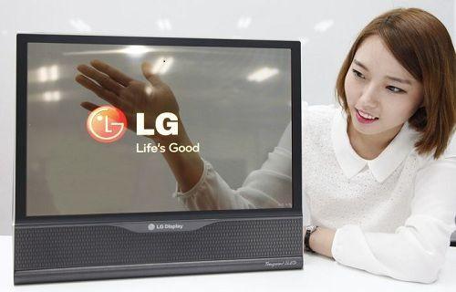 LG 18-inçlik esnek OLED ekranı videoda gösterdi