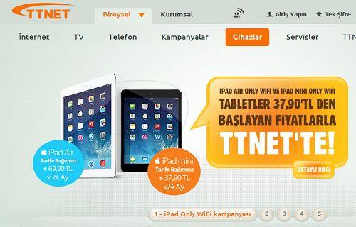 TTNET'in düzenlediği 24 ay taksitle iPad kampanyasına farklı bir açıdan bakmaya ne dersiniz?