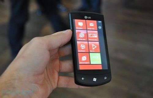 LG yakında Windows Phone'lu telefon duyurabilir