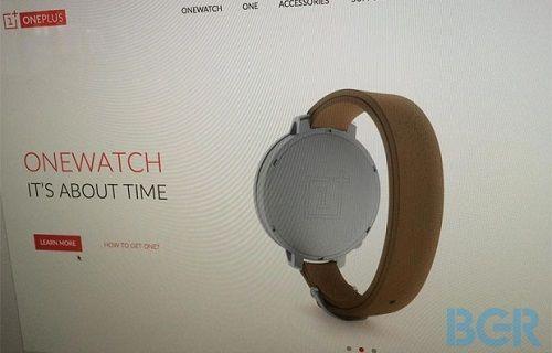 OnePlus'ın akıllı saati OneWatch görüntülendi